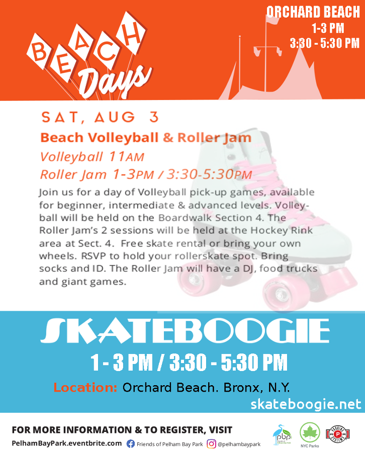 Skatebogie - Rollerskating event in the Bronx.